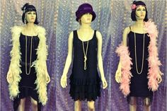 Costume and prop hire for the Bugsy Malone stage show. We have guns, splurge, and costume sets, including suits for hoods and dresses for flappers and showgirls in diffferent age ranges Costume Hire, Costumes, Bugsy Malone, Stage Show, Showgirls, Suits, Dresses, Fashion, Boas