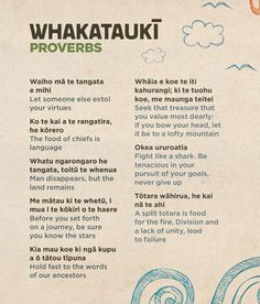 Maori Words, Maori Symbols, Maori Designs, Maori Art, Kiwiana, Teaching Activities, Home Schooling, Proverbs, To My Daughter