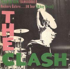 "The Clash - Train In Vain [1979, CBS 8370 │Spain] - 7""/45 vinyl record"
