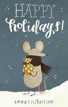 Happy Holidays | Emma Trithart