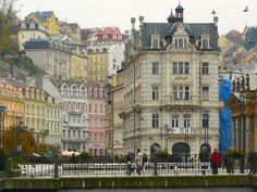 Karlovy Vary is a majestic town of numerous spas and enriching encounters with health tourism