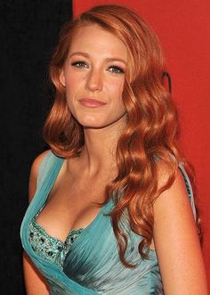 Blake Lively Red Hair