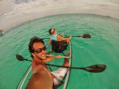 10 kayak transparente glass bottom velassaru resort hotel - dicas de viagem lua de mel nas ilhas maldivas