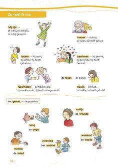 Woordenkaart gevoelens