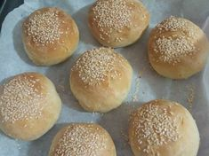 Homemade Burger Buns are easy whole wheat burger buns lightly sweetened with honey. They're guaranteed to elevate your next burger! Homemade Burger Buns, Bread Recipes, Cooking Recipes, Yeast Bread, Quick Bread, Healthy Lifestyle, Bakery, Honey, Food