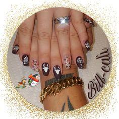 #christmas#nailsart#nailsdesign#bill-cali#❄☃️#