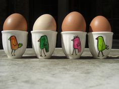 Chickie egg cups!