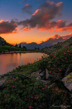 Sunset from Steve Cloutier