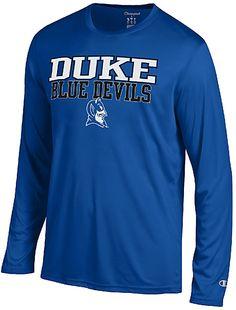 7067fe743fb Duke Blue Devils Royal Vapor Dry Champion Powertrain Long Sleeve T-Shirt