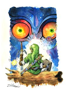 Zelda: Majoras mask by ~caindonofirmamento