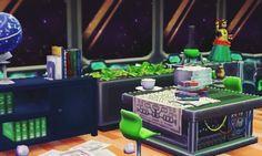 Biff's sloppy space center