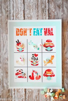 Free Printable Valentine's Day Game from Paisley Petal Events! | VeryRosenberry.com