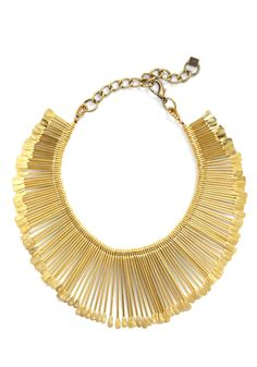 #DIY gold safety pin necklace. Orig price $59.99. Keep Calm & Do It Yourself!