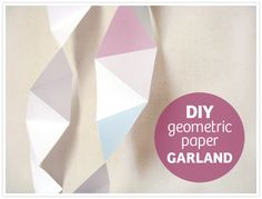 Faceted garland