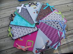 Decorated Clipboards - Adorable and affordable - To shop or place a custom order, please visit www.lissalaneous.etsy.com