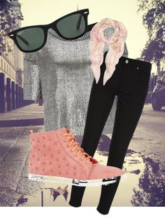 """Pink London"" by elisesol ❤ liked on Polyvore"
