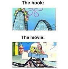 this is the way it was with percy jackson movies. the harry potter movies weren't that bad Memes Humor, Jokes, Fandom Memes, Book Of Life, The Book, I Love Books, My Books, Story Books, Read Books