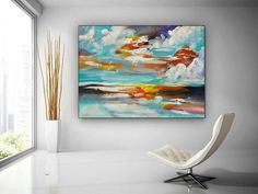 Modern Wall Decor Original Paintings On Canvas Hand Painted image 1 Original Paintings, Original Art, Colorful Artwork, Extra Large Wall Art, Office Wall Art, Modern Wall Decor, Large Painting, Texture Art, Canvas Art