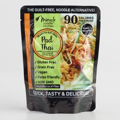 Miracle Noodle Ready to Eat Vegan Pad Thai Set of 6 - v1