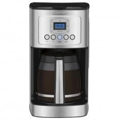 Paksh / Cuisinart 14 Cup Programmable Stainless Steel Coffee Maker Machine with Glass Coffee Carafe with Gold Tone Filter GTF and 2 Pack Charcoal Water Filters Thermal Coffee Maker, Best Drip Coffee Maker, Pod Coffee Makers, Coffee Maker Machine, Coffee Machines, Coffee Lovers, Hot Coffee, Coffee Cups, Espresso Coffee