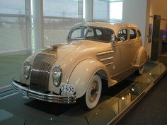 1934 Chrysler Airflow Car - not on a train but quite a ride!