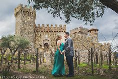 Beautiful anniversary photoshoot at Castello di Amorosa from Liz Maryann Photography