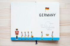 近藤圭恵 : ドイツには丁寧に作られた小さくてかわいいおもちゃがたくさんあります。