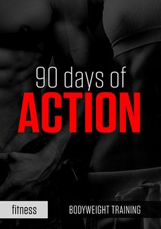 Free 90-day no-equipment training and diet fitness program ...
