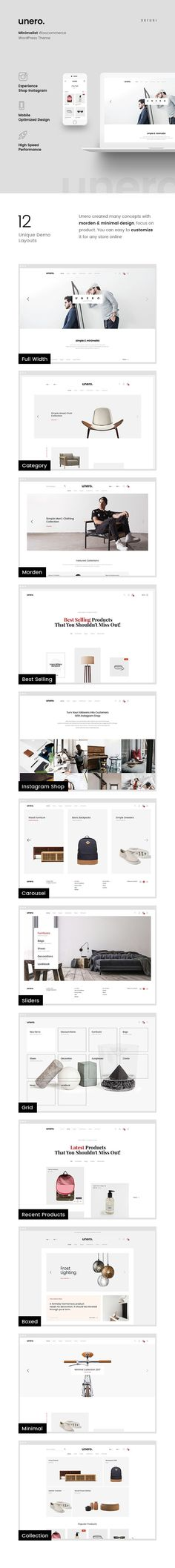 Unero is a clean & minimal AJAX WooCommerce WordPress Theme for shopping online stores. With design minimal and focus on products, Unero will make your online store look more impressive and attractive to viewers. Help increase high conversation rate to buy product with your customers so quickly. Download ➝ https://themeforest.net/item/unero-minimalist-ajax-woocommerce-wordpress-theme/19729674?ref=rabosch
