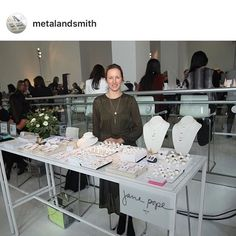Had so much fun at Metal and Smith last week. Thanks again for the opportunity! Shop this Instagram from @janepopejewelry