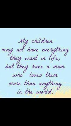My children are my world