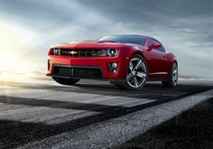 #cars #coches  550 Horsepower Chevy Camaro ZL1
