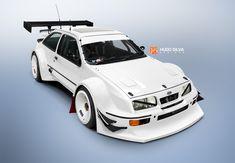 Ford Sierra, Sweet Cars, Tuner Cars, Jdm Cars, Retro Cars, Vintage Cars, Ford Motorsport, Peugeot, Oldschool