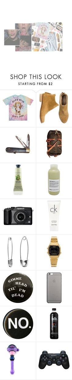 """Better count your lucky stars 💫 Wouldn't find this shìt on Mars, Seventies pornó✨"" by c-untz ❤ liked on Polyvore featuring Matisse, Retrò, Stampd, Louis Vuitton, Davines, Olympus, Calvin Klein, Banana Republic, Casio and Forever 21"