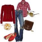 Plaid!!  I love the Lumberjack look!!!