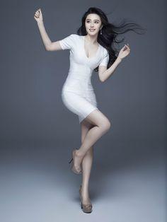 Fan Bingbing 范冰冰; Lovely pale dancer