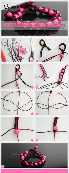Jewelry Making Tutorial--DIY Easy Weave Friendship Bracelets Designs | PandaHall Beads Jewelry Blog