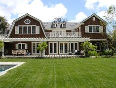 Dutch Colonial Revival -- My Hamptons House, next to Ina? She could bring me soup.