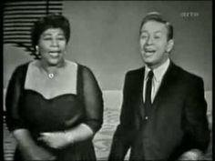 Mel Torme & Ella Fitzgerald - Lady Be Good    Two of the best scat singers ever!  I hope the full version of this exists somewhere.