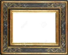 12603795-Gold-and-Black-art-picture-frame-Stock-Photo-frames.jpg (1300×1045)