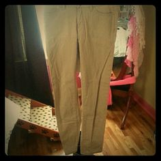 Khaki skinnies Women's khaki skinny jeans BeBop Pants