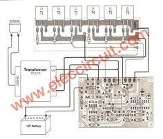 This is power inverter circuit that modify from inverter. It use and mosfet so high efficiency than transistors,full protection Inverter Ac, Electronic Circuit Projects, Electronic Schematics, Audio Amplifier, Circuit Diagram, Transformers, Layout, Grammar, Images