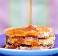 Banana pancakes for one