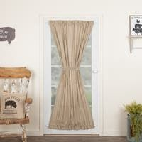 Kettle Grove Door Panel with Attached Applique Crow and Star Valance 72x40 - Door Panel with Valance 72x40 - On Sale - Overstock - 26057380 Door Panel Curtains, Cool Curtains, Rod Pocket Curtains, Colorful Curtains, Hanging Curtains, Panel Doors, Striped Room, Curtain Styles, Solid Doors