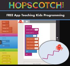 FREE App: Learn Programming with Hopscotch Hopscotch App – free app teaching elementary kids computer programming. This would be awesome for Giana! Kids Computer, Computer Coding, Computer Science, Computer Jobs, Learning Apps, Kids Learning, Hopscotch App, Programming For Kids, Computer Programming