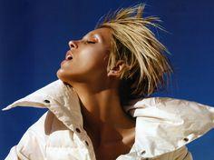 Anja Rubik by Greg Kadel for Vogue China August 2008. #fashion #photography