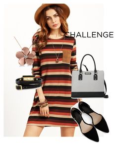 """""""dress"""" by masayuki4499 ❤ liked on Polyvore featuring MANGO, Nine West, Allurez and McQ by Alexander McQueen"""