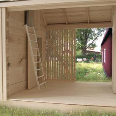 Tiny Cabins, House Front Design, Pavilion, Garage Doors, Villa, Exterior, Architecture, Wood, Outdoor Decor