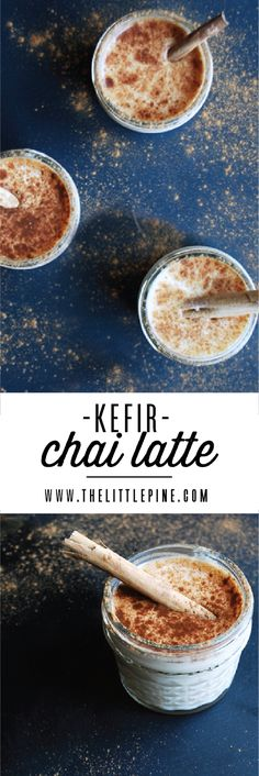 Kefir Chai LatteWhat's the best way to start your day? Caffeine, cinnamon, a little sweet and probiotics... introducing the Kefir Chai Latte!