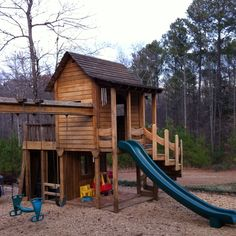 Build my kids an awesome playset!